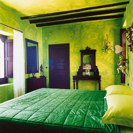Beautiful Chambre Vert Jaune Rouge Gallery - Design Trends 2017 ...